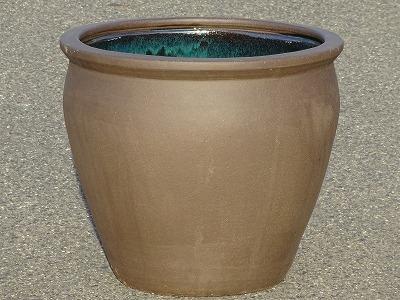 水鉢 2【黒土】Dサイズ 睡蓮鉢 水鉢 メダカ 飼育 鉢
