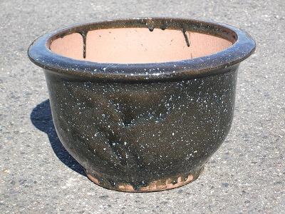 植木鉢【なまこ釉】特大