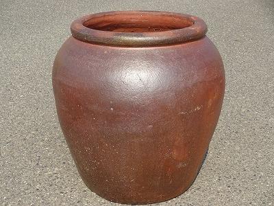 こげ 壷A 大きい壺 シック 傘立て 飾り インテリア 壺