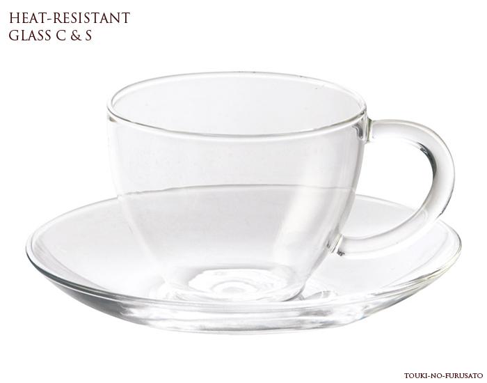 耐熱ガラスで熱いコーヒーや紅茶もOKです \スーパーセール限定クーポン有 買取 耐熱ガラス150mlカップ 耐熱ソーサー CS カップ ソーサー 碗皿セット 耐熱温度差120度 trys光 おしゃれ カップアンドソーサー シンプル 舗 ティーセット 透明ガラス
