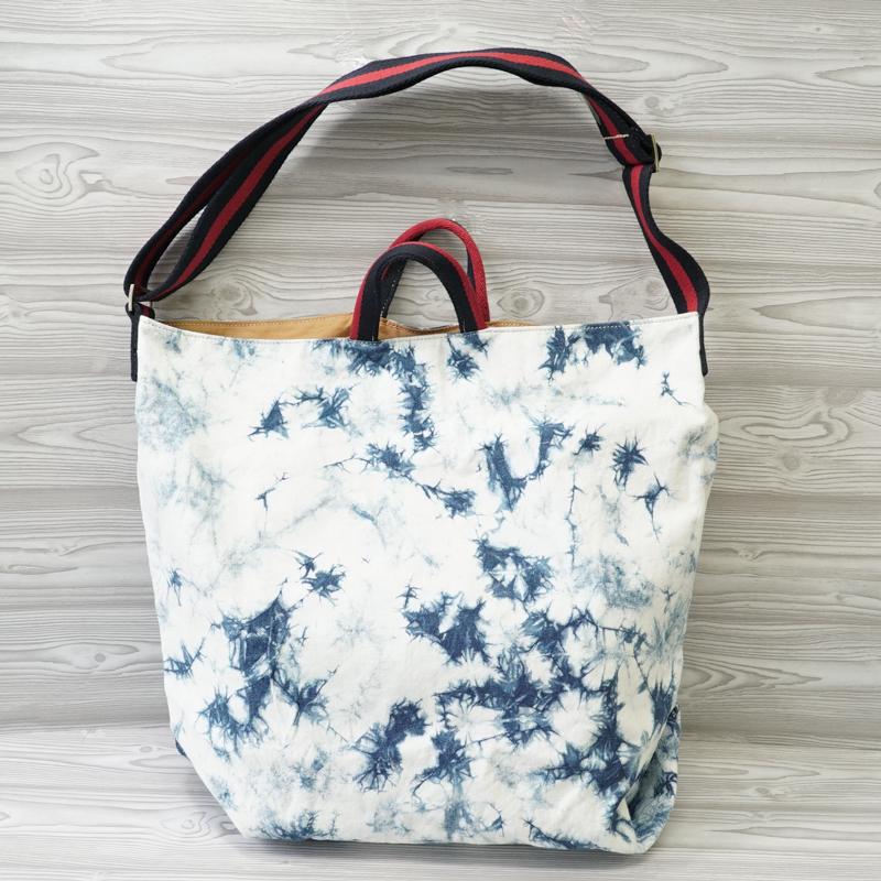 2ウェイバッグ,2way bag,バッグ,バック,bag:【インスタ】【インスタグラム】【インスタ映え】【Instagram】【かわいい】【おしゃれ】【Life&Rice】【藍染】【藍色】【藍】【夏】【Summer】【Thailand】【otop】【タイ】【dp】【zk】