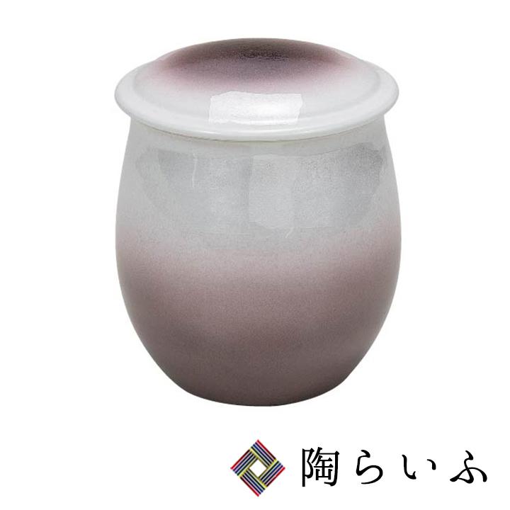 九谷焼 4.5号骨壺 銀彩<送料無料>陶器 仏具 骨壺 人気 ギフト 贈り物