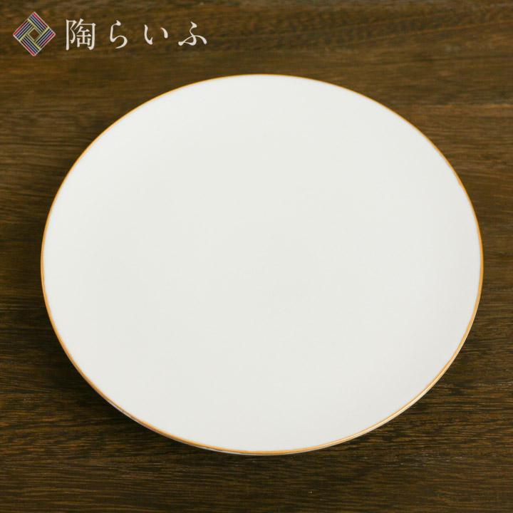 九谷焼 HANASAKA 平皿 (gold) L <九谷焼 皿 人気 ギフト/九谷焼 贈り物 結婚祝い/内祝い/お祝い>