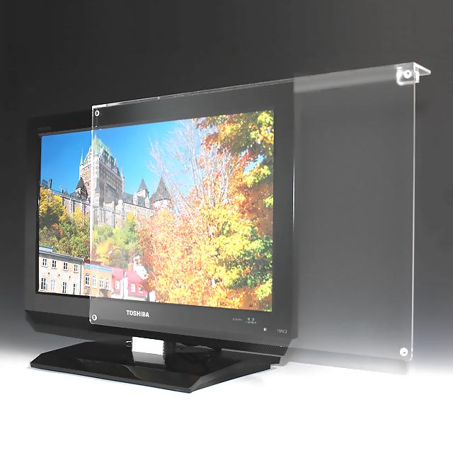 液晶テレビ保護パネル 49-50インチ相当 ノングレア調 板厚3mm 液晶 TV モニター 保護 パネル アクリル板 カバー ガード サイズオーダー
