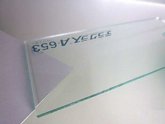 アクリル 板(押出し)ガラス色-板厚(5ミリ)-1830mm×915mm 以上 棚板 アクリル加工 レーザー加工 パネル テーブルマット 1枚分オーダーカット無料(直角カットのみ)
