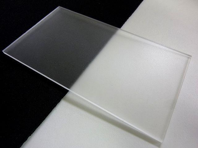 アクリル 板(押出し) 透明マット-板厚(5mm) 1830mm×915mm 以上 棚板 アクリル加工 レーザー加工 パネル テーブルマット 1枚分オーダーカット無料(直角カットのみ)