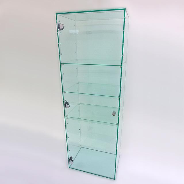 アクリル ガラス色 コレクションラック W300×D200×H450 (扉なし)アクリル板 アクリルケース 物入れ クリア プラスチックケース 透明ケース アクリルBOX アクリルボックス
