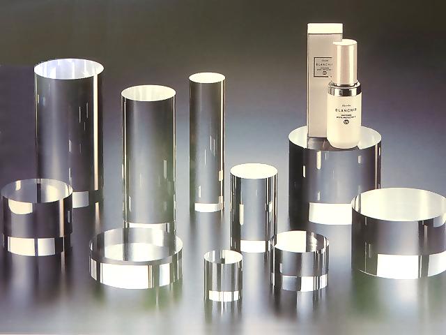 アクリル 円柱 φ100mm×H80mmアクリル 素材 ステージ 台 透明 ディスプレイ アクリル台 プラスチック アクリルステージ アクリルディスプレイ 什器 透明アクリル ブロック 展示 展示台 ディスプレイ用品 円形 展示用品 アクリル什器 展示ステージ