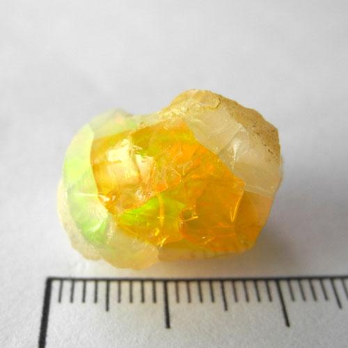 【送料無料】オパール宝石質原石168 【3.35g 19x16x13mm エチオピア産】OPR-168