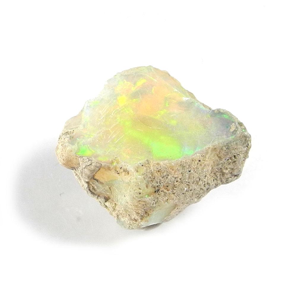【よりどり10%OFF】オパール 宝石質 原石 産地 エチオピア opal 蛋白石 キューピットストーン 10月 誕生石 天然石 鉱物 1点もの 現品撮影 OPR-174