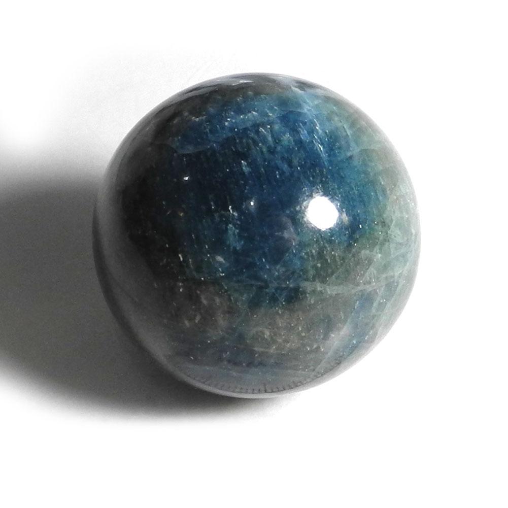 【よりどり10%OFF】ブルーアパタイト スフィア 丸玉 ボール 産地 ブラジル ミナスジェライス州 apatite 燐灰石 天然石 鉱物 1点もの 現品撮影 APB-20