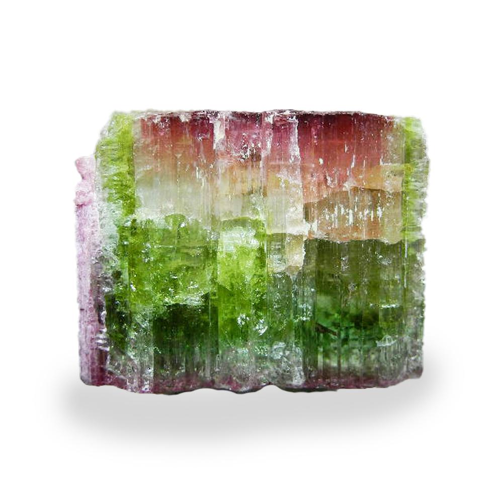 【よりどり10%OFF】ウォーターメロントルマリン バイカラートルマリン 柱状結晶 原石 ナチュラル 産地 ブラジル waternelon tourmaline 電気石 10月 誕生石 天然石 鉱物 1点もの 現品撮影 BTRG-125
