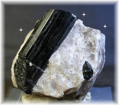 【送料無料】ブラックトルマリン入り水晶48