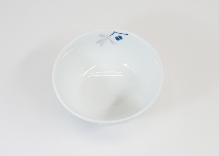 波佐見焼 辻が花 軽量飯碗(小・赤) Φ11.5×6cm お茶碗 ご飯茶碗 ごはん茶碗 めしわん 和食器 磁器 HASAMI おしゃれ