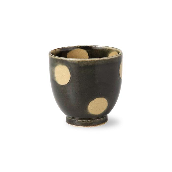 波佐見焼 緑彩水玉 湯呑 225ml 湯飲み ゆのみ お茶 茶器 はさみ焼 通販 楽天 日本製 HASAMI おしゃれ