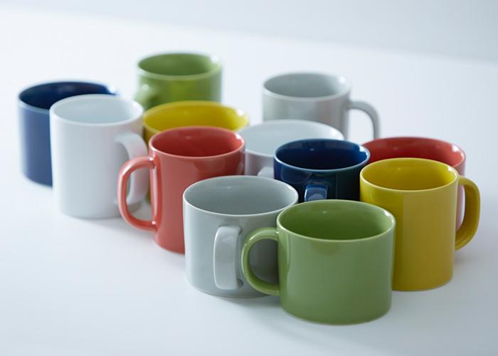 《良好設計獎獲獎》Common湯啤酒杯茶杯380ml綠色啤酒杯茶杯一般komon微波爐可的剪刀焼《長崎縣生產的波佐見焼》