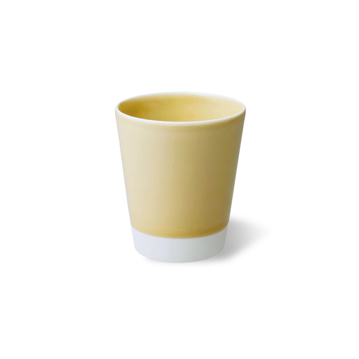 税込3 980円以上は送料無料 波佐見焼 es カップ 黄磁釉 黄色 卓出 イエロー コップ お茶 コーヒー 酒器 有田焼としても流通 はさみ焼 お酒 おしゃれ essence HASAMI エッセンス ギフト 贈り物 ご注文で当日配送 磁器 通販
