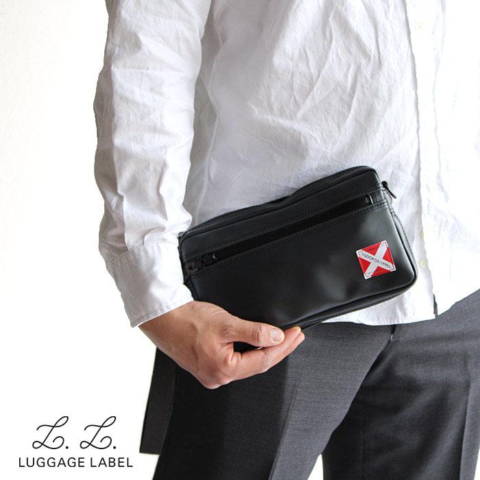 【二年保証】吉田カバン ラゲッジレーベル ライナー 2way ウエストバッグ セカンドバッグ LUGGAGE LABEL LINER 951-09245 吉田かばん ブラック 正規品 プレゼント 父の日