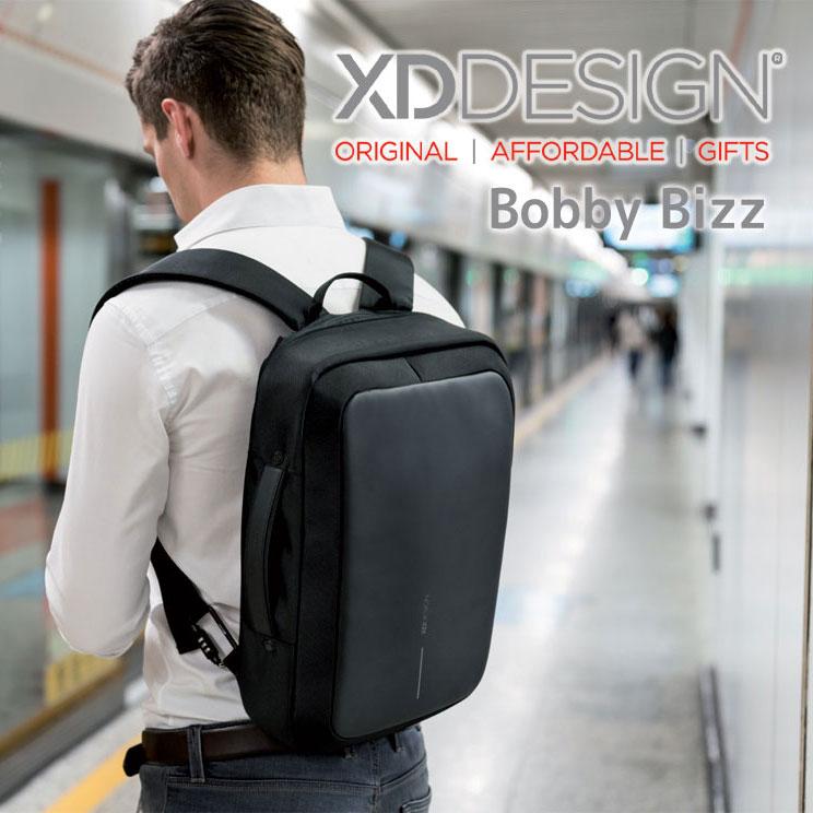 XD DESIGN ビジネスバッグ Bobby Bizz 3WAY エックスディーデザイン ボビービズ ブリーフケース ビジネスリュック 通勤 通勤バッグ P705-571 PC収納可能 LOFT ロフト ハンズ プレゼント 母の日