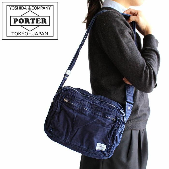 【カードで17倍】【二年保証】吉田カバン ポーター ディープブルー ショルダーバッグ PORTER DEEP BLUE SHOULDER BAG 630-06444 正規品 プレゼント