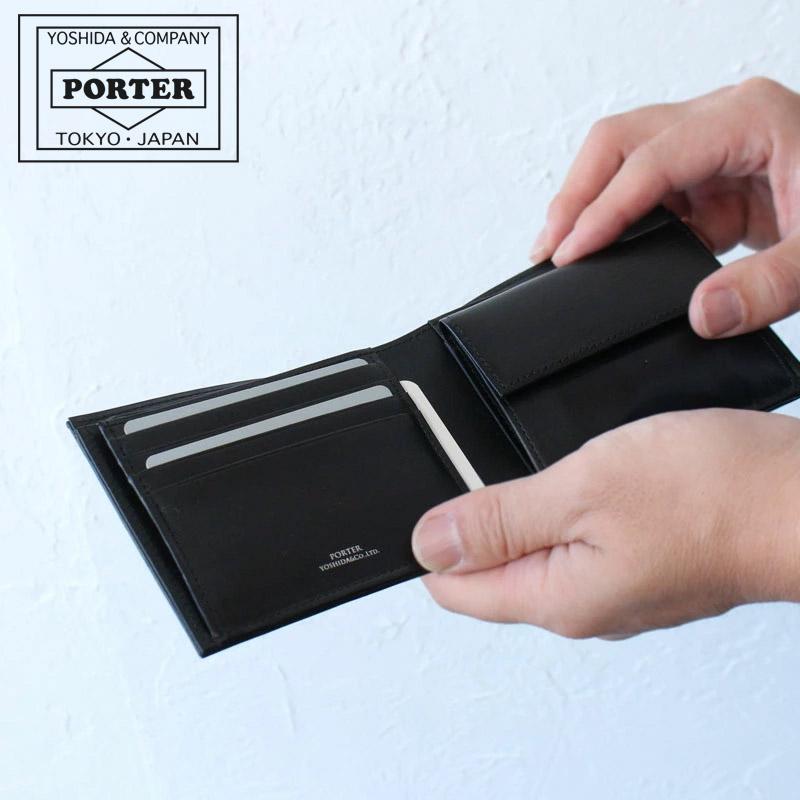 【カードで17倍】【二年保証】吉田カバン ポーター プリュム 二つ折り財布 PORTER PLUME WALLET 179-03871 吉田かばん 正規品 プレゼント メンズ 男性