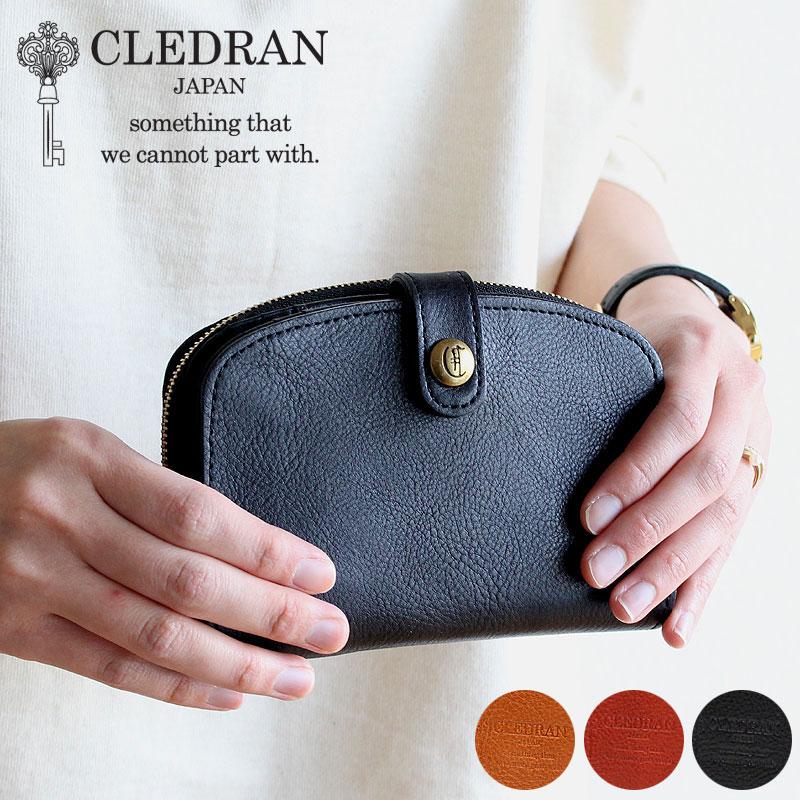 CLEDRAN MIEL WALLET クレドラン ミエル ウォレット 二つ折財布 日本製 ラウンド レディース レザー 正規品 ギフト プレゼント 母の日