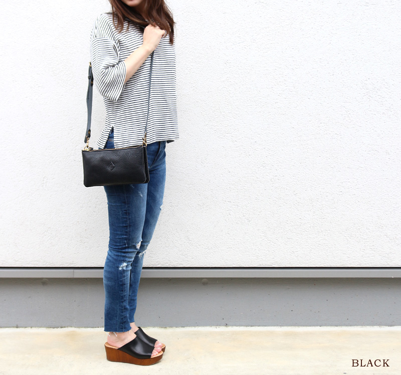 CLEDRAN 運行的信條欲望欲望袋 2506年日本女士肩點 10 倍
