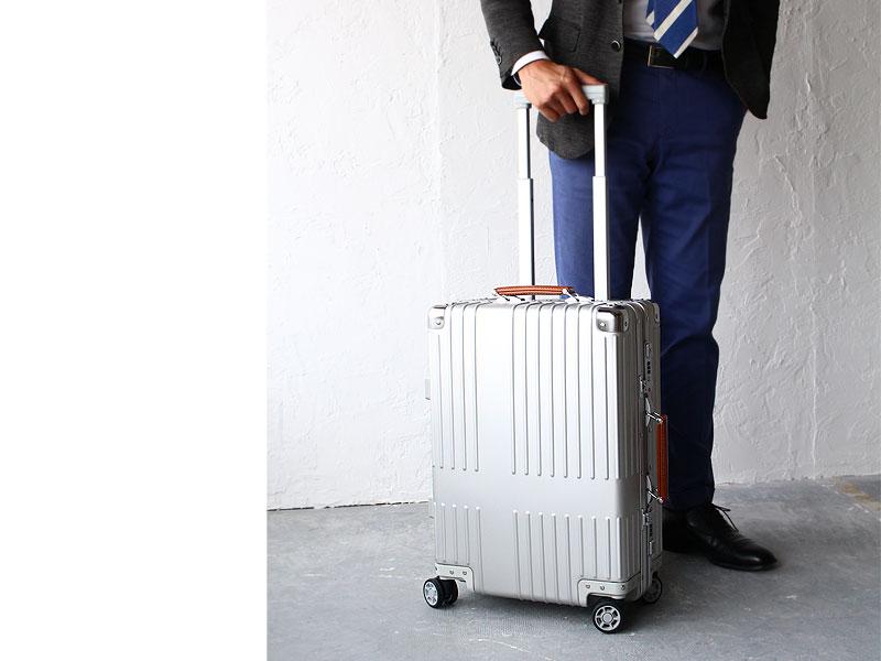 8c8236655e トリオ イノベーター アルミ スーツケース 機内持込可 inv1017 イメージ画像02