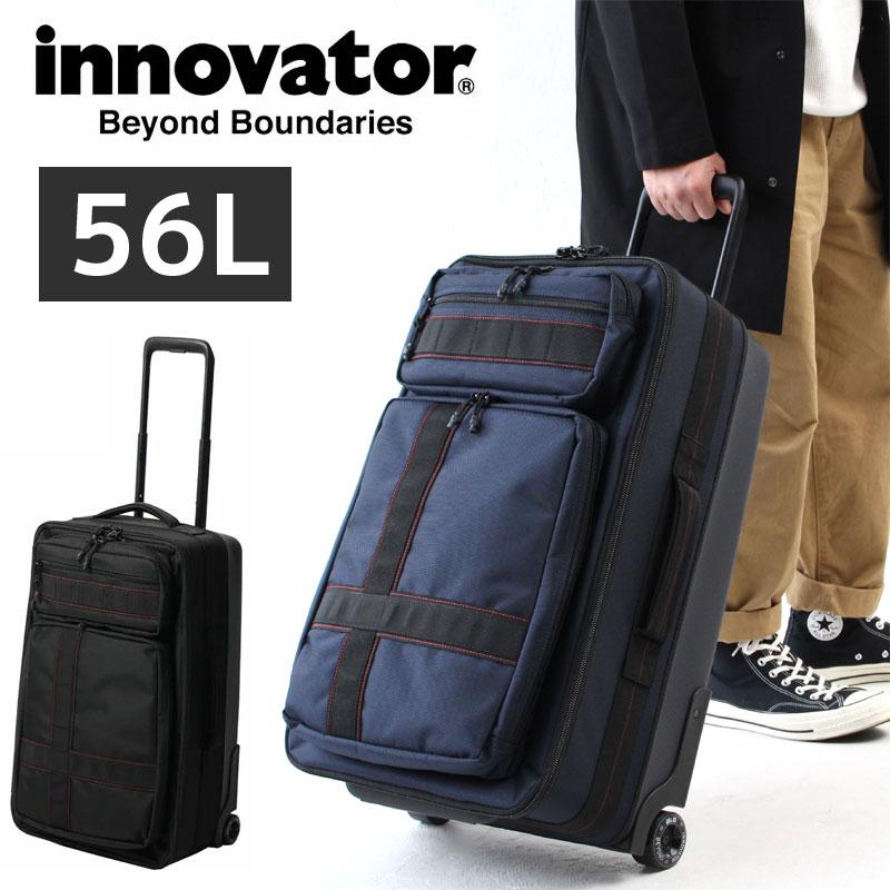 【正規品2年保証】innovator イノベーター ソフトキャリーケース スーツケース INV4W / 56L 3泊~5泊 2輪 TSAロック トリオ 正規品