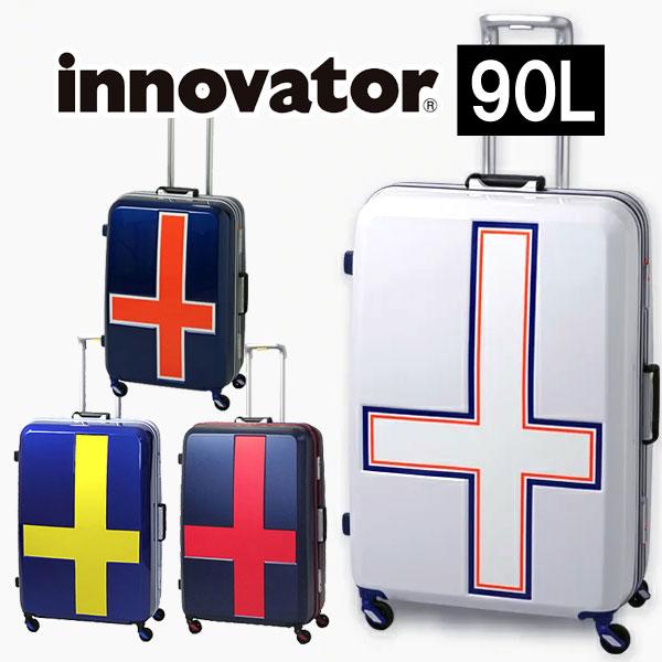 【カードで17倍】【正規品2年保証】イノベーター スーツケース INV68T innovator TSAロック 10泊~ 76cm 90L フレームタイプ カードキー 2年保証 トリオ 正規品 Lサイズ ブランド