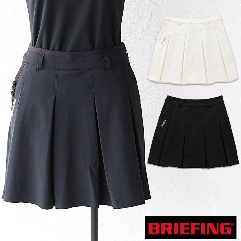 【カードで3倍】【50%OFFセール】ブリーフィング ゴルフ ウーマンフレアースカート BRIEFING GOLF WOMENS FLAIR SKIRT ゴルフウェア 正規品 BRG191W16 ホワイト ブラック 正規品