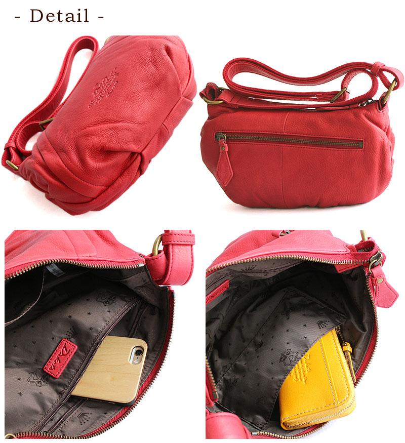 Dakota Dakota Angus cow leather shoulder bag 1034034 (old item number 1032034) also