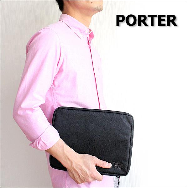 【二年保証】吉田カバン ポーター ディル マルチオーガナイザー(M) PORTER DILL 653-09753 B5対応(iPad モバイルPC対応) 吉田かばん あす楽対応 正規品 プレゼント 母の日