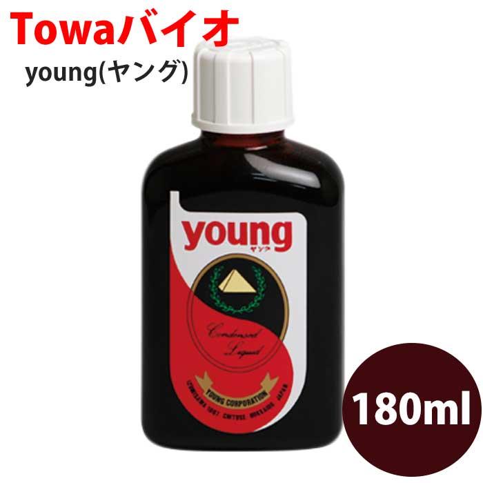 young【ヤング】濃縮液180ml/乳酸菌と酵母菌が作り出した天然養分(ビタミン、ミネラル、アミノ酸各種)を濃縮/ヤングライン/ヤング・ライン