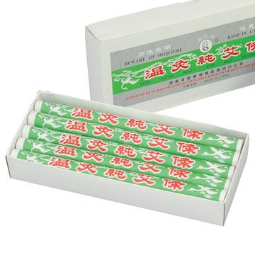 かざすお灸でツボにアプローチ 棒灸 オンラインショッピング TK 温灸純艾條 もぐさ 10本 中国棒灸 トワテック 税込