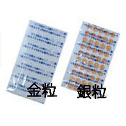 金粒 本物 透明テープ付 粒径1.2mm 大宝医科工業 低価格化 1000粒袋入