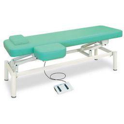 上肢台付電動フットワークベッド 無孔タイプ 高田ベッド製作所