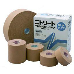 ニトリート キネシオロジーテープ(撥水)3.75cm×5m 8巻 × 10セット