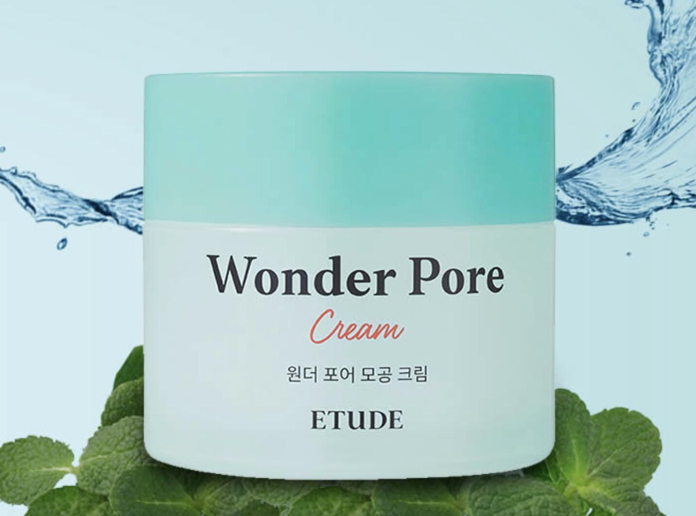 ETUDE HOUSE 発売モデル 送料無料 エチュードハウス ワンダーポアクリーム 75ml 毛穴クリーム ポアクリーム 韓国コスメ トナー プチプラ 正規品 つや肌 保湿 即出荷 美肌 化粧水