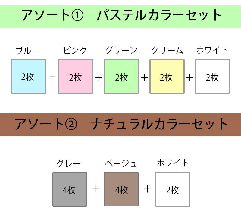 今治タオル 日本製 フェイスタオル 10枚セット エコ加工 パステルカラー タオル エコクローバー まとめ買い 新生活