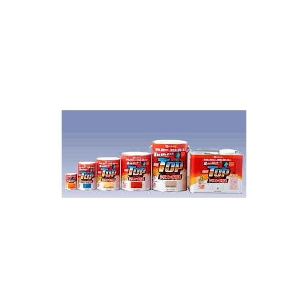 関西ペイント 屋根用塗料 高級 関ペ ペンキ 塗料 塗替え カンペハピオ 油性トップガード 0.4L 上質 DIY ねずみ色 シリコン多用途