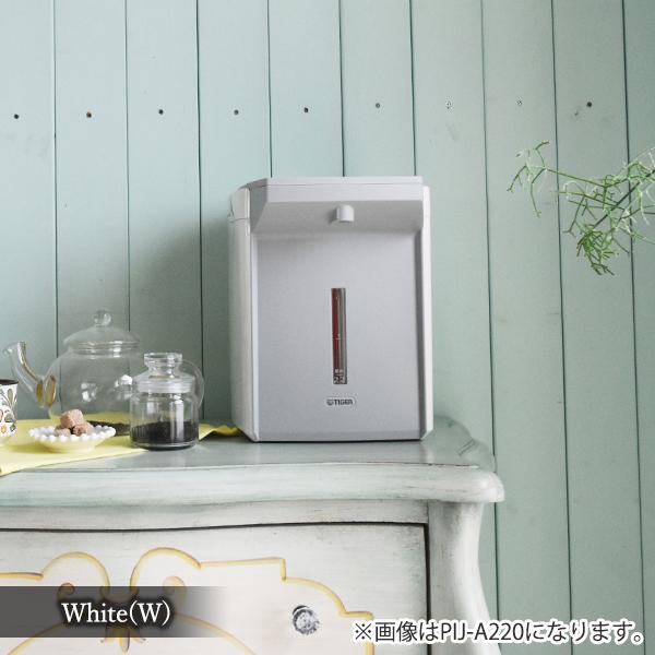 【送料無料】電気ポット 3L 電動ポット タイガー 蒸気レス とく子さんTIGER 蒸気レスVE電気まほうびん PIJ-A300-W