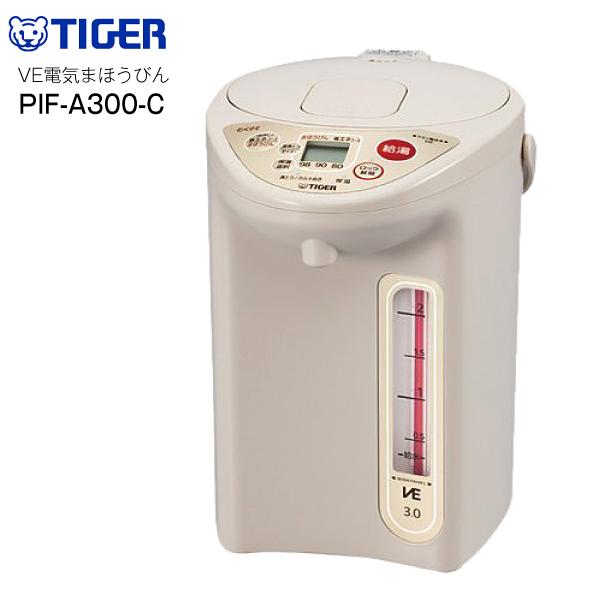 【送料無料】 電気ポット 3L タイガー とく子さん 保温 沸騰 VE電気まほうびん TIGER 電動ポット PIF-A300-C