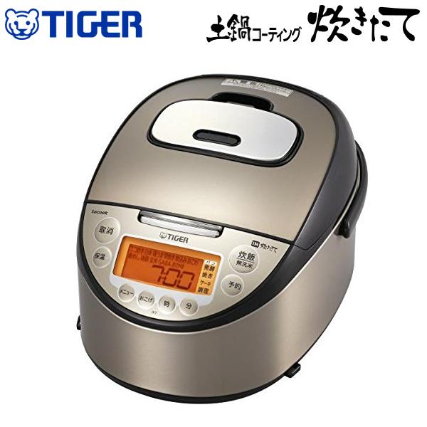 【送料無料】 タイガー 炊飯器 5.5合 IH炊飯ジャー 炊きたて 土鍋コーティング tacook タクック 同時調理TIGER IH炊飯器 JKT-J101-TP