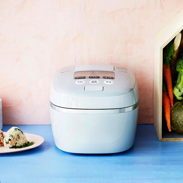 【JPC-A101】【送料無料】 炊飯器 5.5合 タイガー 圧力IH 炊飯ジャー 土鍋コーティングTIGER 圧力IH炊飯器 炊きたて ホワイトグレー JPC-A101-WH