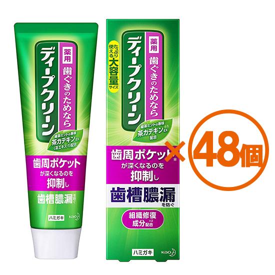 【48個まとめ買い】ディープクリーン 薬用ハミガキ 160g[医薬部外品] ×48個