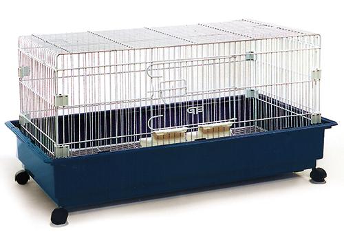 うさぎケージ 3200レクタングルシリーズ 3200-R ウサギ ホワイト金網 GB(ジービー)