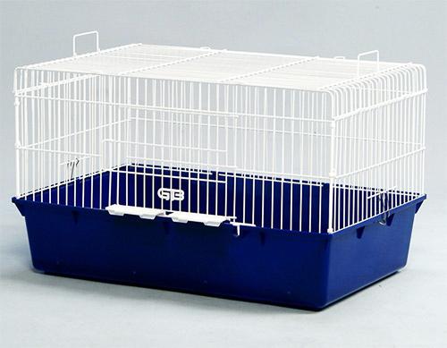 うさぎケージ 710-R ウサギ ホワイト金網 GB(ジービー)