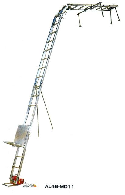 【スーパーセール】 AL4B-MD2N マイティパワー荷揚げ機AL4B ピカコーポレイション:ホームセンタートックリ店-DIY・工具