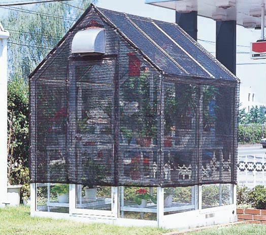 屋外温室日よけパイプ WP-15SPA ピカコーポレイション